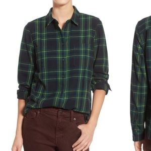 Madewell - flannel shirt